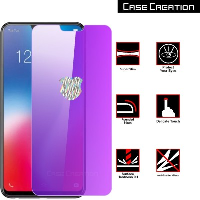 Case Creation Tempered Glass Guard for LG G8 Anti Blue Tempered Glass(Pack of 1)