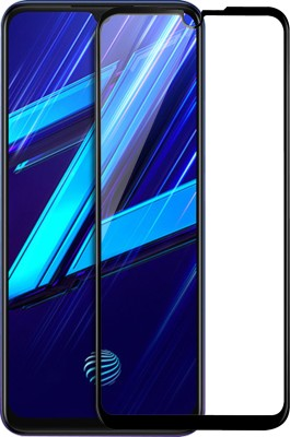 Knotyy Edge To Edge Tempered Glass for Vivo Z1X(Pack of 1)