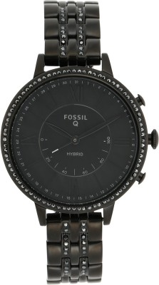 Fossil Q Jacqueline Smartwatch(Black Strap, Free Size)