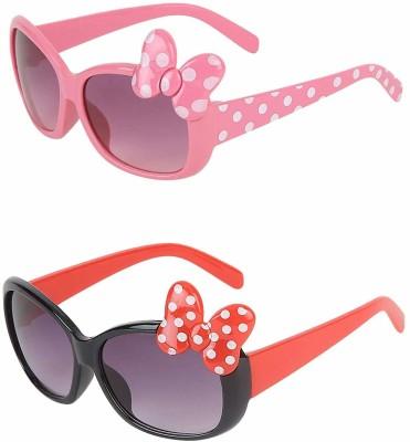 BULL - I Oval Sunglasses(For Girls)