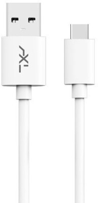 AXL XCB 12 1.2 m USB Type C Cable Compatible with Set Top Box, White, One Cable AXL Mobile Cables
