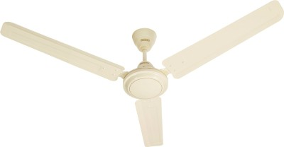 Usha Racer 1200 mm Ultra High Speed 3 Blade Ceiling Fan(Rich Ivory, Pack of 1)