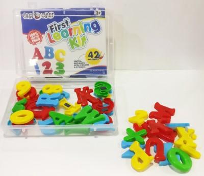 Miss & Chief Magnetic alphabets for kids(42 Pcs.)(Multicolor)