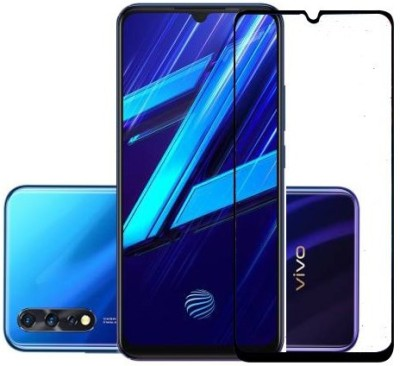 Classy Edge To Edge Tempered Glass for vivo z1x(Pack of 1)