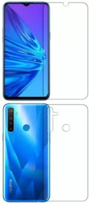 GS SMART Front and Back Screen Guard for Realme 5 {Flexible}(Pack of 2)