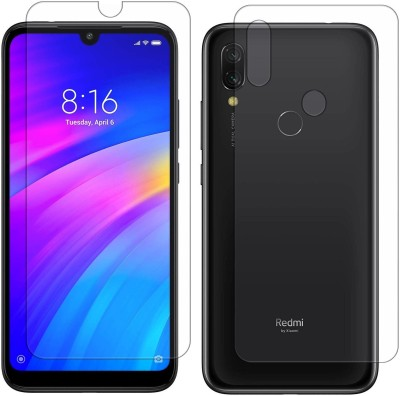 Yoox Front and Back Screen Guard for Mi Redmi 7, Mi Redmi Y3(Pack of 1)