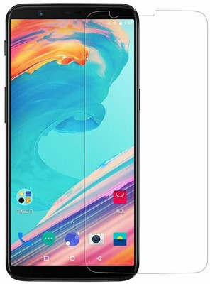 Tuchcare Tempered Glass Guard for 1+5T, OnePlus 5T(Pack of 1)
