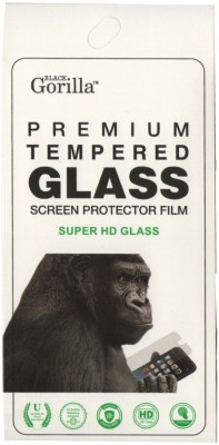 BLACK GORILLA Edge To Edge Tempered Glass for Realme C2, OPPO A1k(Pack of 1)