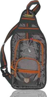 Wildmoda Grey, Orange Shoulder Bag Wildmoda Bags, Wallets   Belts