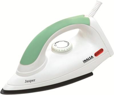 Inalsa Jasper 1000 W Dry Iron (White and Green)