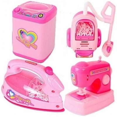 Alpyog Household Appliances Set for Girls with Any 4 House Hold pcs Set