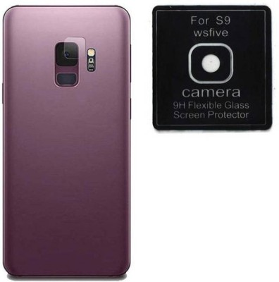 GBKS Back Camera Lens Glass Protector for Samsung Galaxy S9(Pack of: 1)