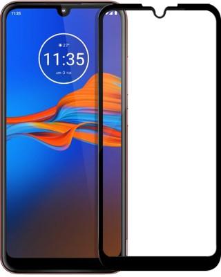 Flipkart SmartBuy Edge To Edge Tempered Glass for Motorola Moto E6s(Pack of 1)