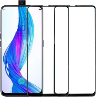 flysto Edge To Edge Tempered Glass for OPPO F11 Pro, OPPO K3, Realme X(Pack of 1)