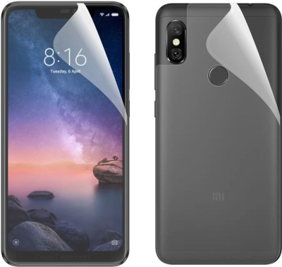 Case Creation Impossible Screen Guard for Mi Redmi Note 6 Pro(Pack of 2)