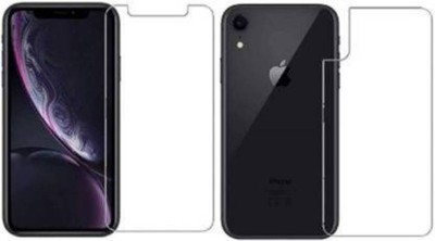 FIRST IMPRESSION Front and Back Tempered Glass for Apple iPhone XR(Pack of 2)