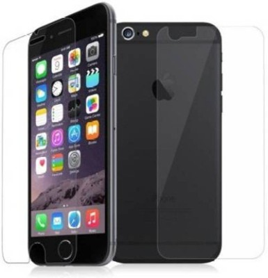 FIRST IMPRESSION Front and Back Tempered Glass for Apple iPhone 6s, Apple iPhone 6, (Flexible )(Pack of 2)