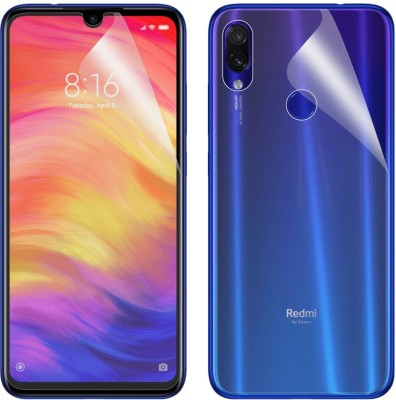 Case Creation Front and Back Screen Guard for Mi Redmi 7, Mi Redmi Y3(Pack of 2)