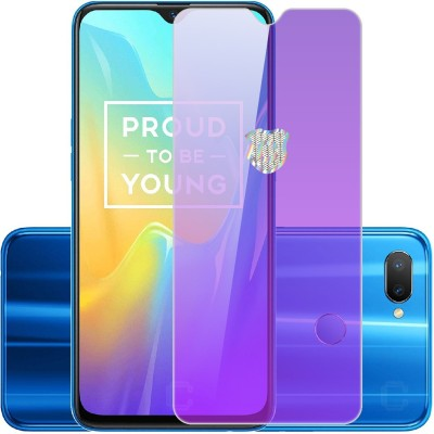 Case Designer Tempered Glass Guard for Lenovo K10 Note Tempered HD screen Scratch Protector -Blocks Excessive Harmful Blue Light(Pack of 1)