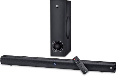 iBall Cinebar 100 High Power with Subwoofer 80 W Bluetooth Soundbar (Black, 2.1 Channel)