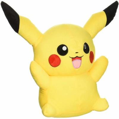 Raadya Yellow pikachu plush soft toy pokemon doll  40cm    40 cm Yellow Raadya Soft Toys