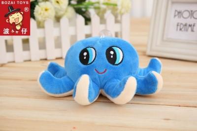 Skylofts 15cm Cute Octopus Starfish Soft Stuffed Toy Sea Animal Fish Kids Baby Birthday Gift   15 cm Blue Skylofts Soft Toys