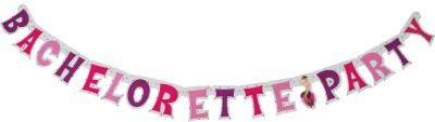 Funcart Bachelorette letter banner Banner 6.7 ft, Pack of 1