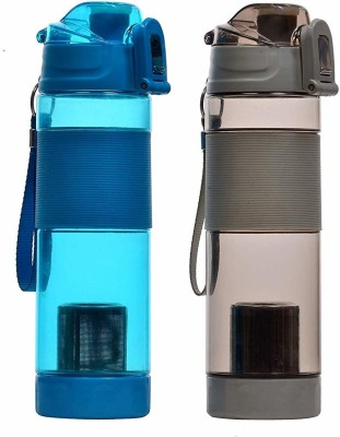 SPJ ENTERPRISE AHA+ ALKALINE BOTTLE 600 ml Bottle(Pack of 1, Multicolor, Plastic)