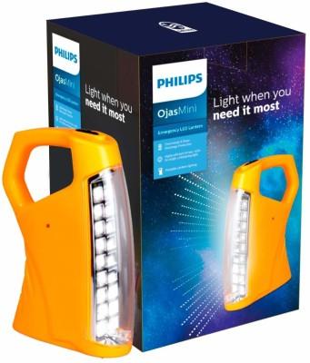 PHILIPS OjasMini Rechargeable LED Lantern Emergency Light(Yellow)