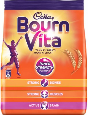 Cadbury Bournvita Health Drink Nutrition Drink(500 g, Chocolate Flavored)