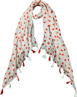 Ziva Fashion Woven Cotton Blend Women Scarf