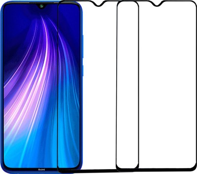 Omniversal Tempered Glass Guard for Edge To Edge Mi Redmi Note 8 Pro(Pack of 1)