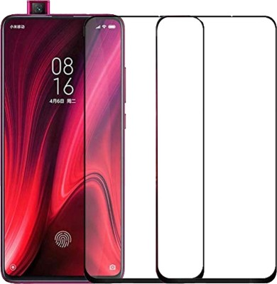 ACUTAS Tempered Glass Guard for For Redmi K20/K20 Pro (Black) Edge to Edge Full Screen Coverage with Easy Installation kit(Pack of 1)