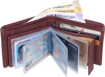 CURRENCY Men Brown Artificial Leather Wallet