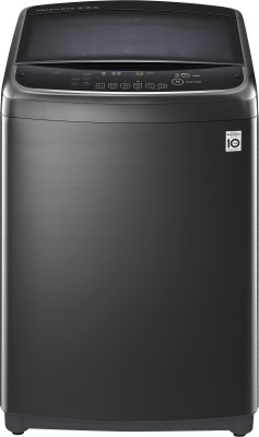 LG 12 kg Fully Automatic Top Load with In-built Heater Black(THD12STB)