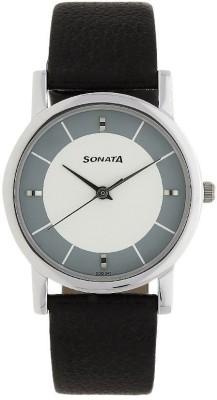 SONATA NJ7987SL01W Analog Watch   For Men SONATA Wrist Watches