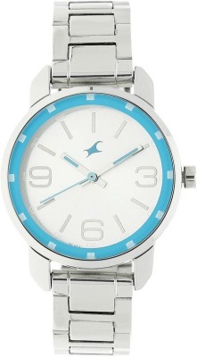 Fastrack NN6111SM01 Analog Watch   For Women Fastrack Wrist Watches