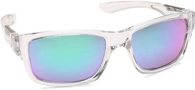 Fastrack Wayfarer Sunglasses(For Men, Blue, Green)