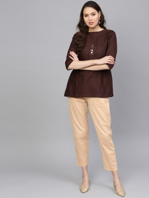 Indo Era Women Kurta and Palazzo Set