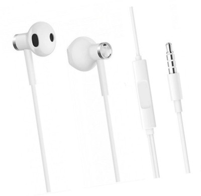 Alishark EARPHONE 4S Wired Headset(White, Wired in the ear)