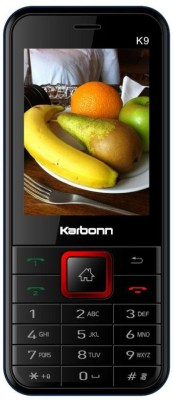 Karbonn K9(Black And Red)