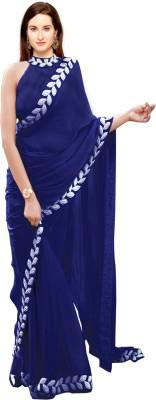 Kedar Fab Embroidered Bollywood Pure Silk Saree
