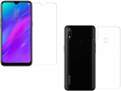ELEF Front and Back Screen Guard for Realme 3, Realme 3i, Vivo Y93(Pack of 1)