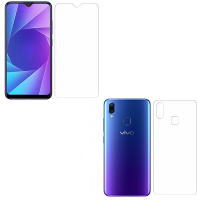 ELEF Front and Back Tempered Glass for Vivo Y93(Pack of 2)