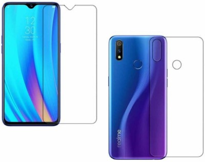 ELEF Front and Back Screen Guard for Oppo F9, OPPO F9 Pro, Realme 2 Pro, Realme U1, Realme 3 Pro(Pack of 1)
