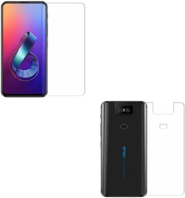 ELEF Front and Back Screen Guard for Asus Zenfone 6Z(Pack of 1)