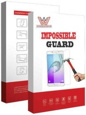 wowdesignhub Impossible Screen Guard for IntexIndie44(Pack of 1)