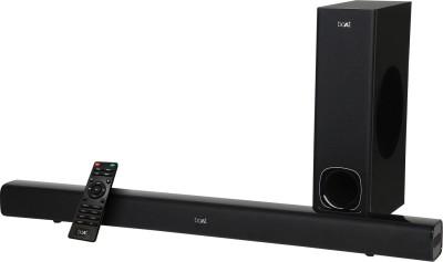 boAt Aavante Bar 1200 80 W Bluetooth Soundbar  (Premium Black, 2.1 Channel)