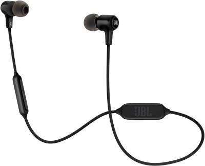 JBL E25BT Bluetooth Headset(Black, In the Ear)