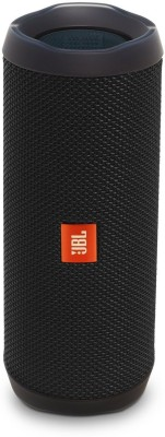 JBL Flip 4 Portable Bluetooth Speaker (Black, Stereo Channel)